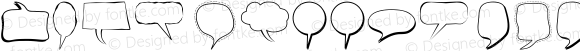 Alin Speech Bubbles  Version 001.000