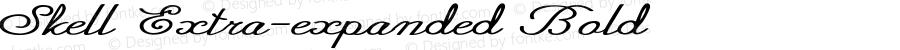 Skell-ExtraexpandedBold