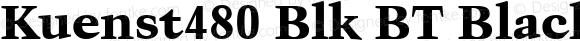 Kuenst480 Blk BT Black
