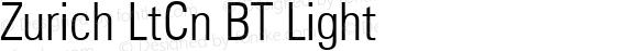 Zurich LtCn BT Light mfgpctt-v4.4 Dec 23 1998
