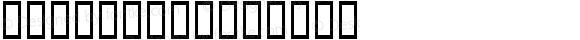 ARAP 11 Regular Altsys Fontographer 3.5  1/27/94
