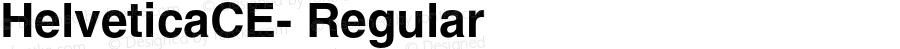 HelveticaCE- Regular 1.006