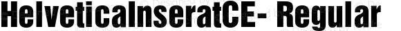 HelveticaInseratCE- Regular 0.001