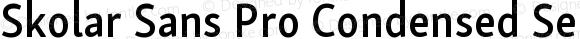 Skolar Sans Pro Condensed Semibold