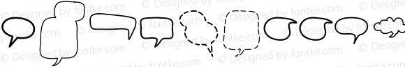 Alin Speech Bubbles 2 Regular Version 001.000