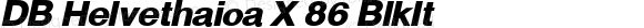 DB Helvethaica X 86 BlkIt Version 3.200