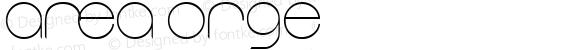 area ORGe Macromedia Fontographer 4.1.5 9/3/01
