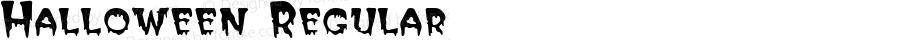 Halloween Regular Altsys Fontographer 3.5  1/24/93