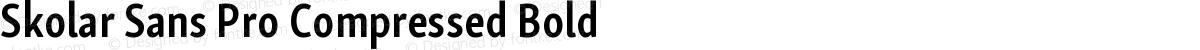 Skolar Sans Pro Compressed Bold