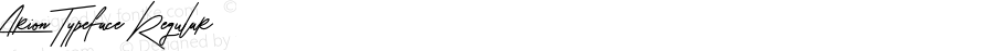 Arion Typeface Regular Version 1.000;PS 001.001;hotconv 1.0.56