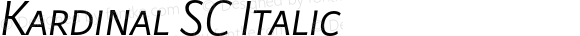 Kardinal SC Italic