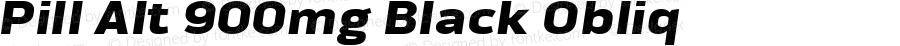 Pill Alt 900mg Black Obliq Version 1.000 2007 initial release