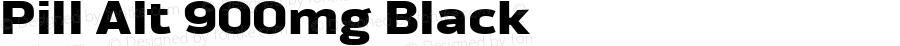 Pill Alt 900mg Black Version 1.000 2007 initial release