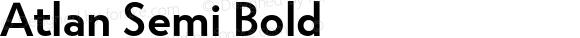 Atlan Semi Bold
