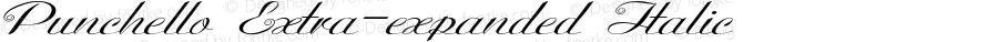 Punchello-ExtraexpandedItalic