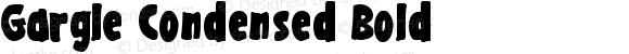 Gargle Condensed Bold