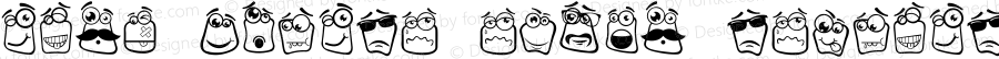 Alin Square Emoji Regular Version 001.000