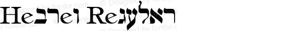 Hebrew Regular