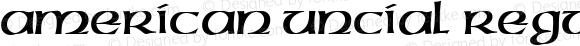 American Uncial Regular Version 001.005