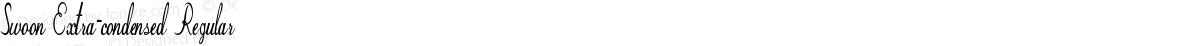 Swoon Extra-condensed Regular