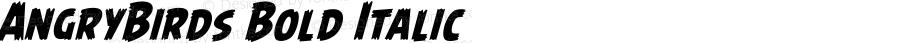AngryBirds Bold Italic