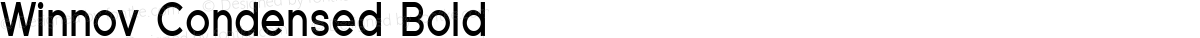 Winnov Condensed Bold
