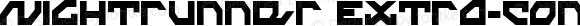 Nightrunner Extra-Condensed Extra-Condensed
