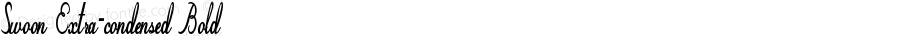 Swoon-ExtracondensedBold