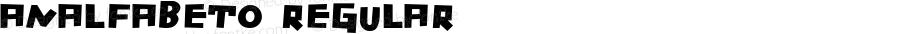 Analfabeto Regular Version 2.0 2007 release