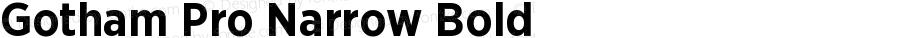 GothamPro-NarrowBold