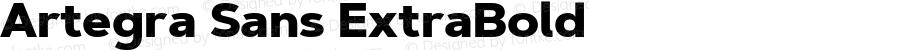 Artegra Sans ExtraBold Version 1.00;com.myfonts.easy.artegra.artegra-sans.extrabold.wfkit2.version.4Kow