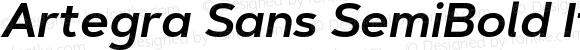 Artegra Sans SemiBold Italic Version 1.00;com.myfonts.easy.artegra.artegra-sans.semibold-italic.wfkit2.version.4Kpz