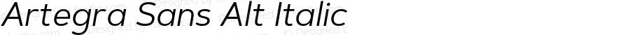 Artegra Sans Alt Italic Version 1.00;com.myfonts.easy.artegra.artegra-sans.alt-regular-italic.wfkit2.version.4Kps