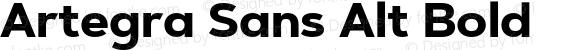 Artegra Sans Alt Bold Version 1.00;com.myfonts.easy.artegra.artegra-sans.alt-bold.wfkit2.version.4KmS
