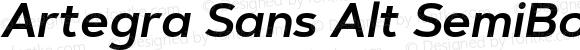 Artegra Sans Alt SemiBold Italic Version 1.00;com.myfonts.easy.artegra.artegra-sans.alt-semibold-italic.wfkit2.version.4KpA