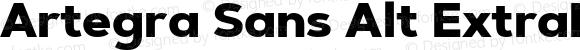 Artegra Sans Alt ExtraBold Version 1.00;com.myfonts.easy.artegra.artegra-sans.alt-extrabold.wfkit2.version.4KoB