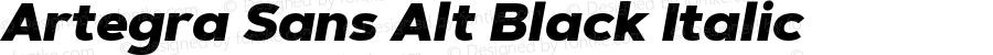 Artegra Sans Alt Black Italic Version 1.00;com.myfonts.easy.artegra.artegra-sans.alt-black-italic.wfkit2.version.4KrV