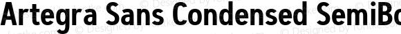 Artegra Sans Condensed SemiBold Version 1.00;com.myfonts.easy.artegra.artegra-sans.cond-semibold.wfkit2.version.4Kqj