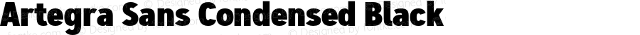 Artegra Sans Condensed Black Version 1.00;com.myfonts.easy.artegra.artegra-sans.cond-black.wfkit2.version.4KmH