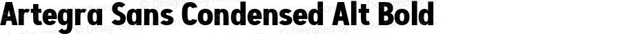 Artegra Sans Condensed Alt Bold Version 1.00;com.myfonts.easy.artegra.artegra-sans.alt-cond-bold.wfkit2.version.4Knu