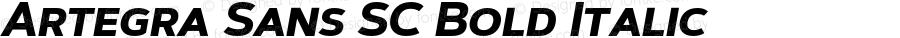 Artegra Sans SC Bold Italic Version 1.00;com.myfonts.easy.artegra.artegra-sans.sc-bold-italic.wfkit2.version.4KmW