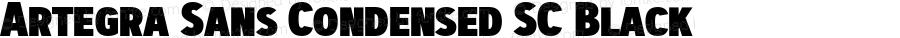 Artegra Sans Condensed SC Black Version 1.00;com.myfonts.easy.artegra.artegra-sans.sc-cond-black.wfkit2.version.4KmY