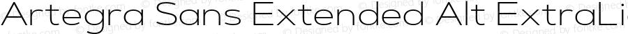Artegra Sans Extended Alt ExtraLight Version 1.00;com.myfonts.easy.artegra.artegra-sans.alt-extend-extralight.wfkit2.version.4Krc