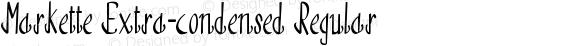 Markette Extra-condensed Regular