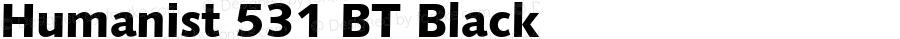 Humanist 531 BT Black spoyal2tt v1.34