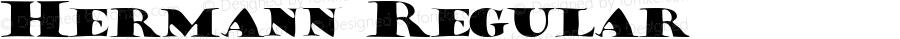 Hermann Regular Macromedia Fontographer 4.1 7/20/96