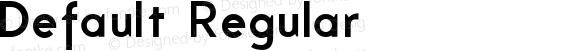 Default Regular Version 001.000