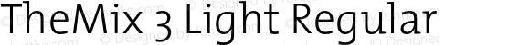 TheMix 3 Light Regular 1.0