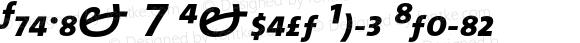 TheMix 7 Expert Bold Italic 1.0