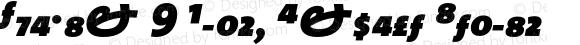 TheMix 9 Black Expert Italic 1.0